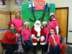 Volunteers at PetSmart Santa Photos
