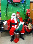 Jeff as Santa with Kerri